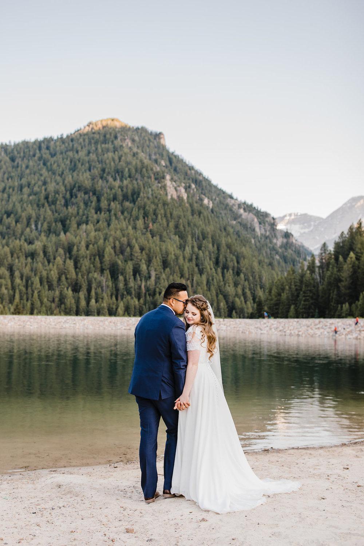 bride and groom lakeside formals provo utah professional wedding photographer calli richards