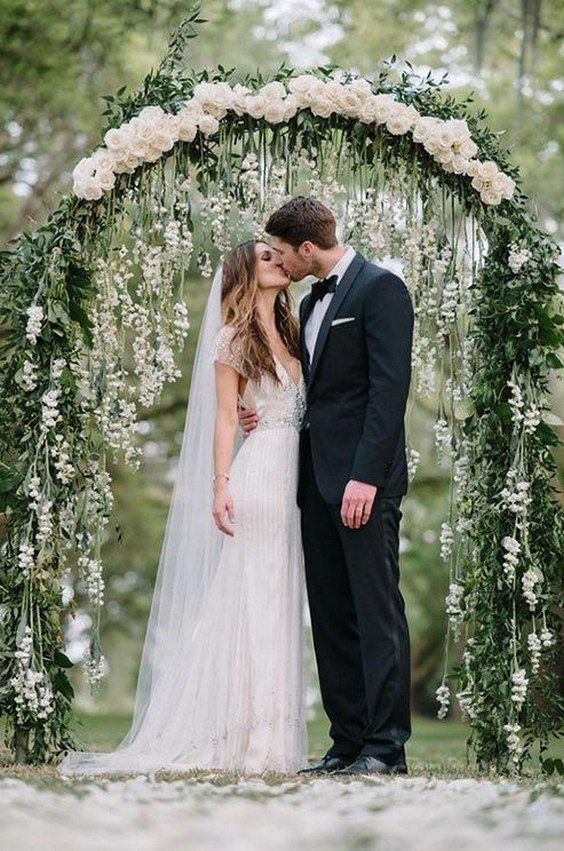 bohemian wedding  arch outdoor wedding mountain wedding pink flowers ivy