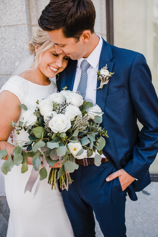 salt lake city wedding photographer lds temple smiling