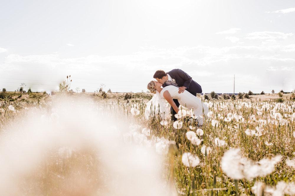 salt lake city wedding photographer field dip happy bridals