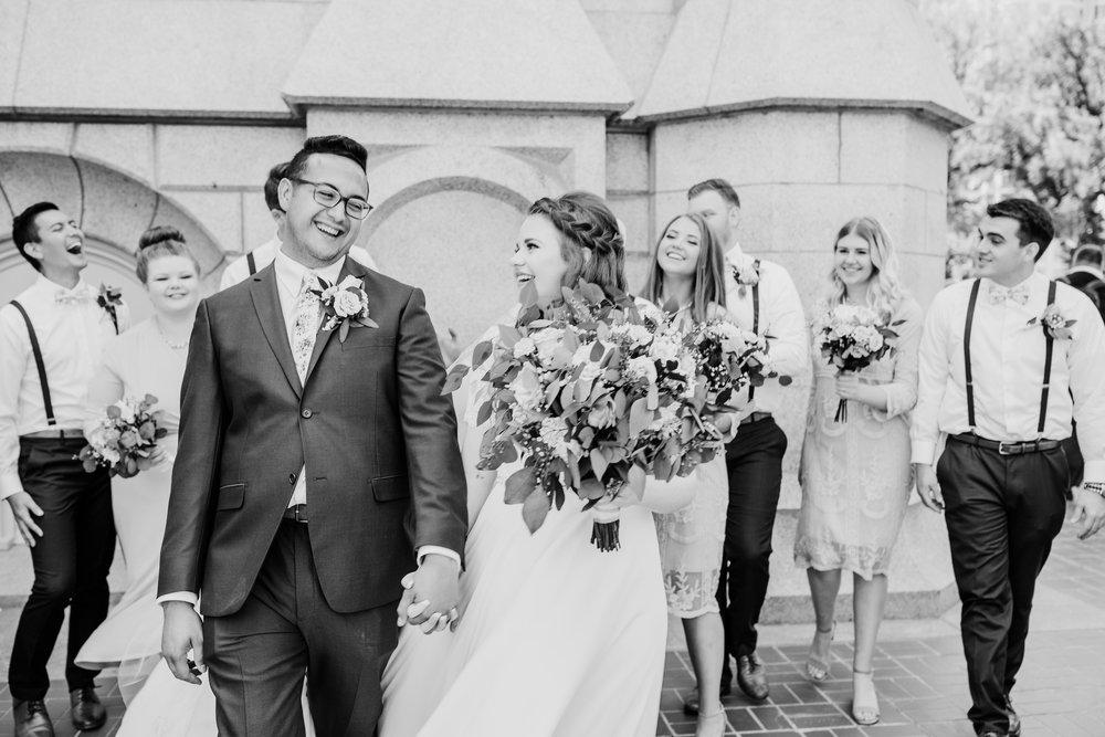 utach valley wedding photographer lds temple happy
