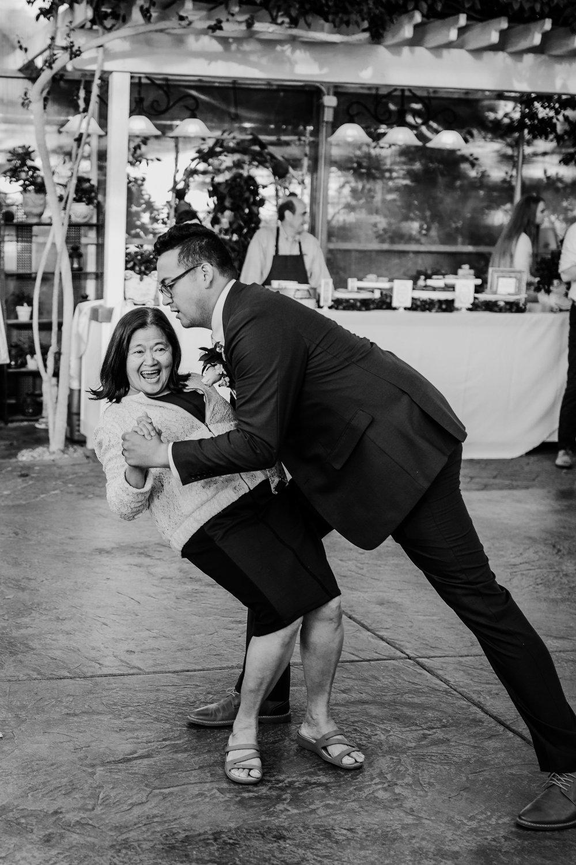 professional salt lake city photographer mother daughter dance dip