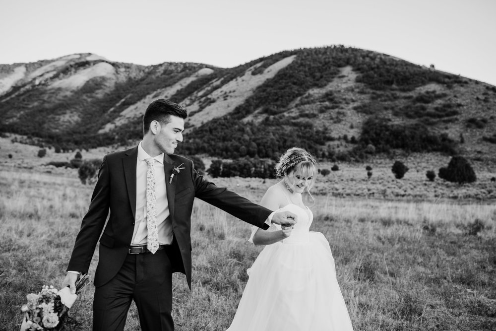orem utah professional wedding photographer mountain formals bohemian braids