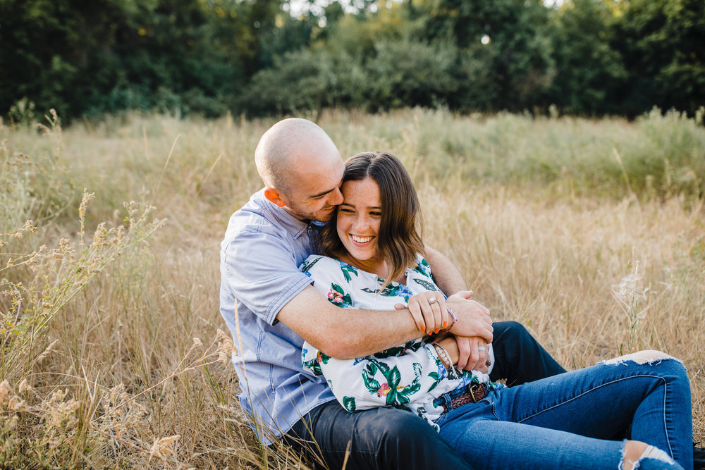 cache valleu utah couples photographer laughing sitting hugging smiling