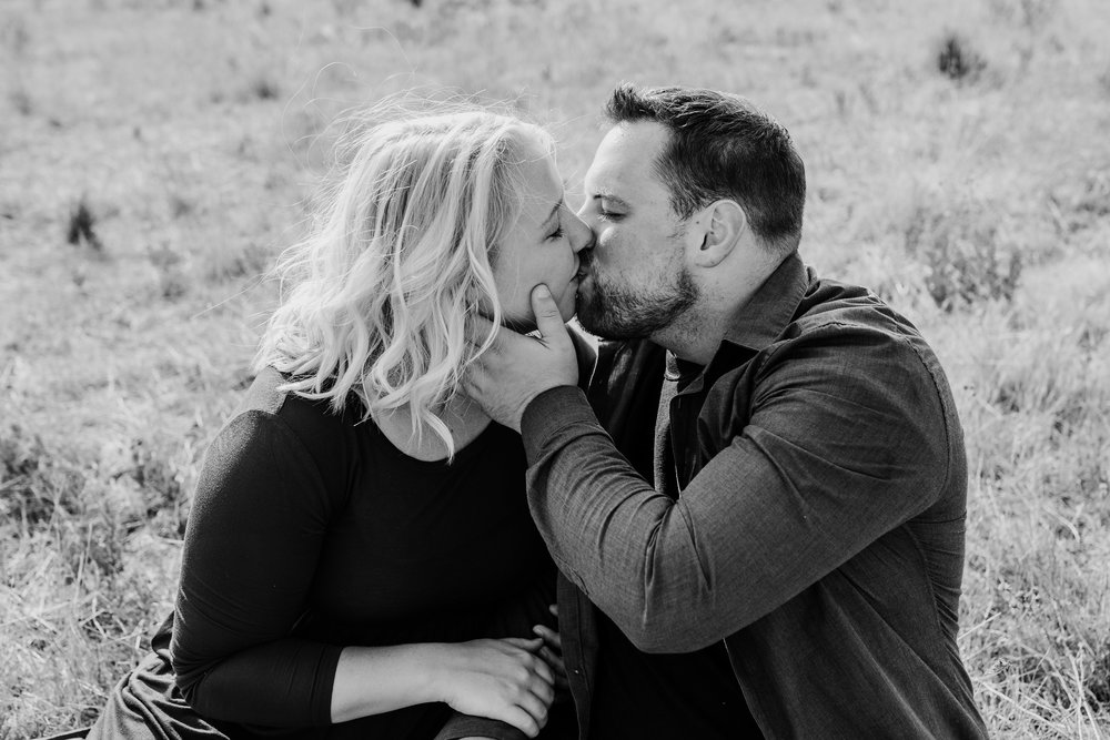 mantua engagement photographer best professional kissing romantic sitting face cupping