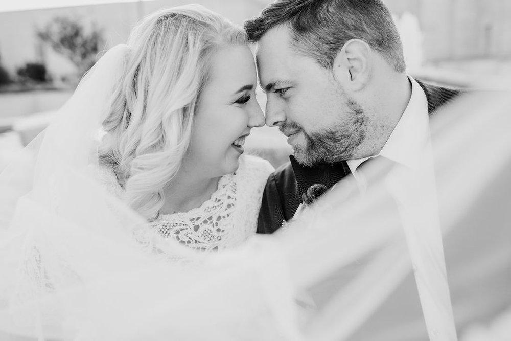 best ogden utah photographer formals billowy veil romantic smiling