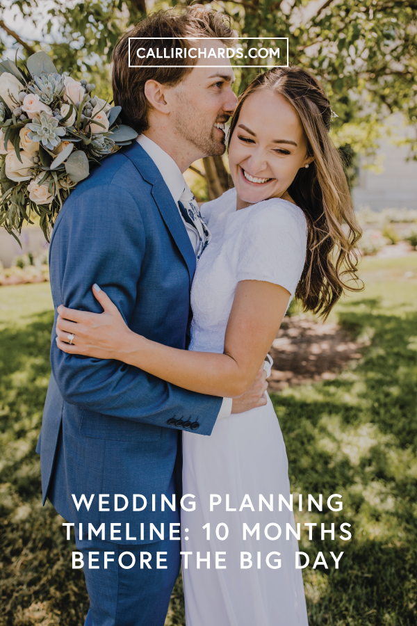 ten months before your wedding planning checklist tips for brides