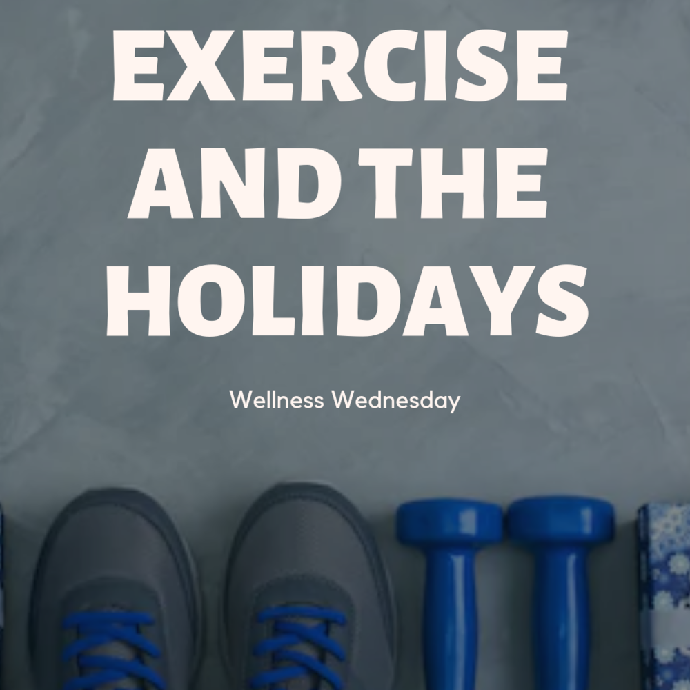 Wellness Wednesday Start Exercising now