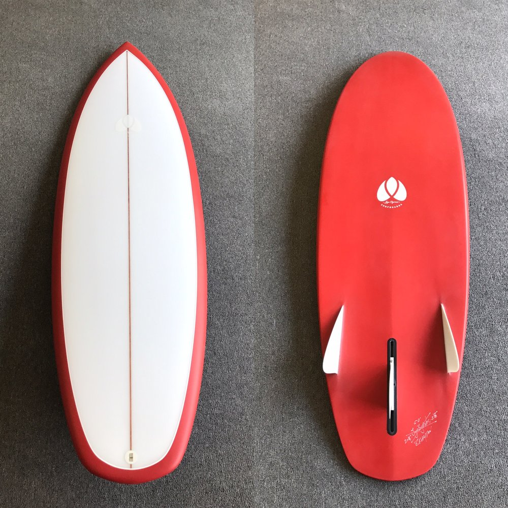 Bonzer Traditional - Red Bottom Tint w: White Pinline.JPG
