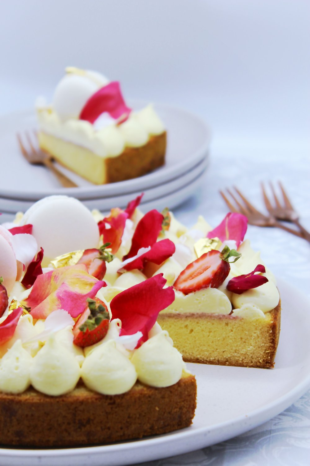 Cheesecake Mousse & Strawberry Cake.jpg