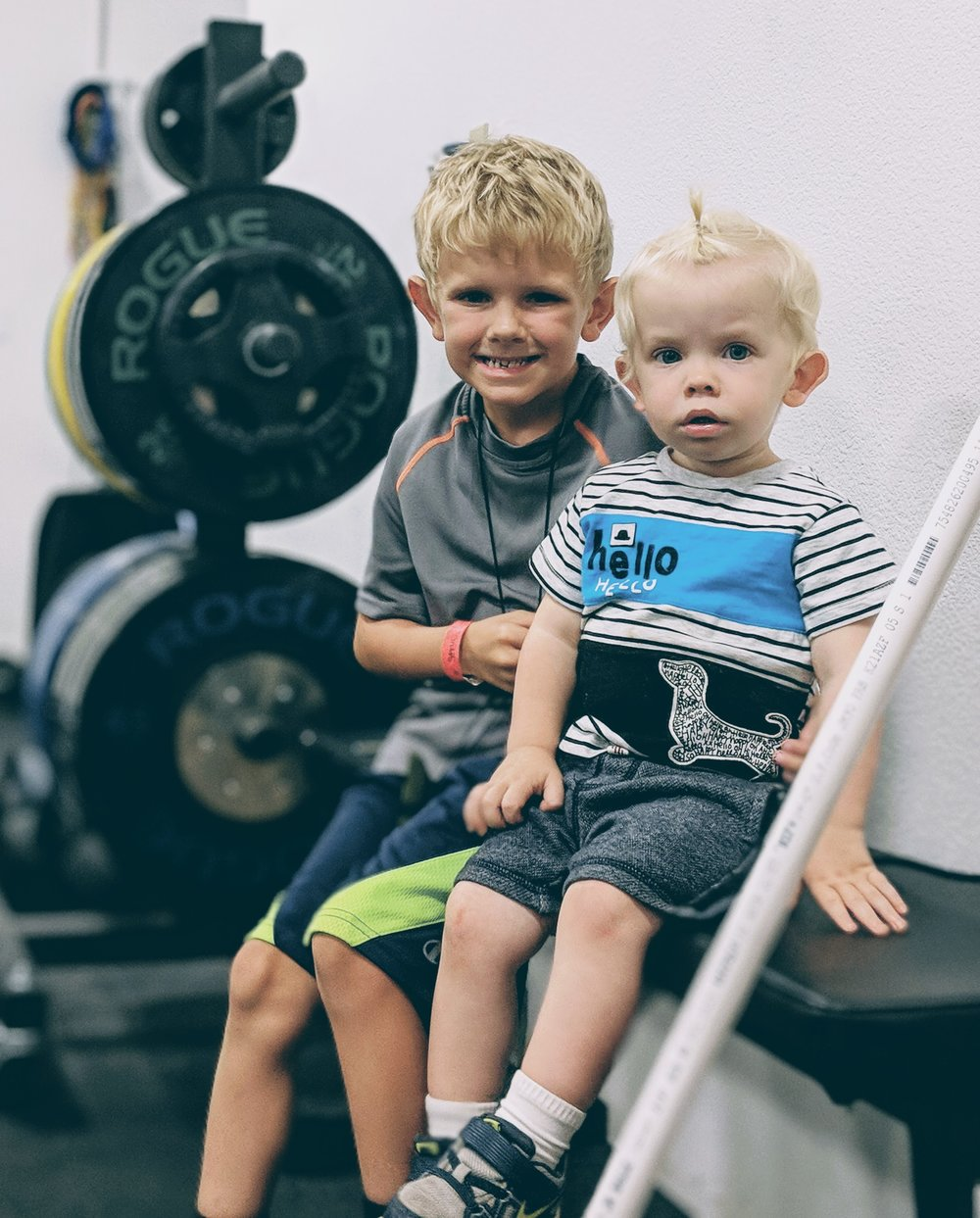 Child Care - We ARE excited to announce a new 9:30 am CrossFit class, Monday Through Friday.With this added class, childcare will now be offered at CrossFit Composure during this hour.Our Child care offering at CrossFit Composure is a way for parents to have an hour to themselves; to focus on themselves, and to have an hour of uninterrupted fitness to help prepare you for anything life can throw at you. Your children will be supervised in a safe, fun, and nurturing environment to keep them engaged and entertained while you are working on your best self!Childcare Guidelines and general rules