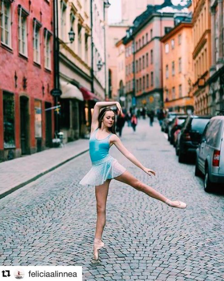 - @FELICIAALINNEAStudent at the Royal Swedish ballet school. Our very first brand ambassador from Sweden.