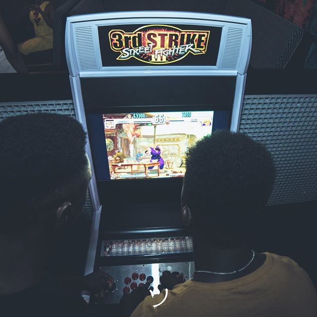Come for Street Fighter, stay for the good vibes and tasty drinks!