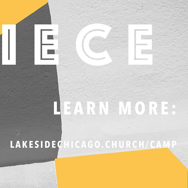 Camp 2018! Are you ready? . . . #lakesidechurchofchicago #lakesidechicago #conferencepoint #summercamp #youthcamp
