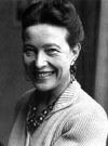 Simone de Beauvoir   (9 January 1908 – 14 April 1986)