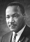 Martin L King   (January 15, 1929 – April 4, 1968)