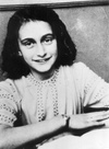 Anne Frank  June 12, 1929 - March 1945)