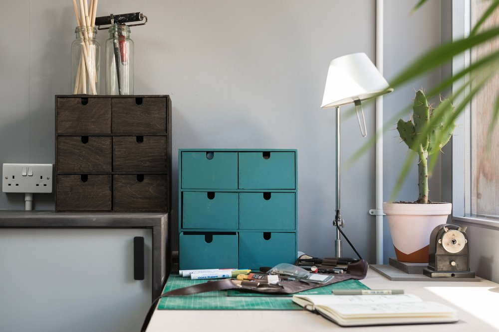 A home studio for a product designer -