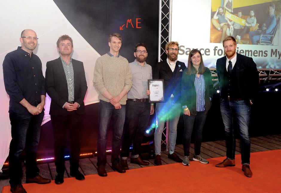 Sauce at the Digital Awards