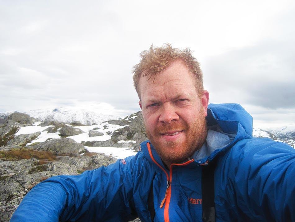 Alf Erik Røyrvik,verneområdeforvaltar for Ålfotbreen landskapsvernområde
