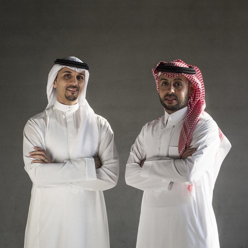 Mr. Nasair Alsharef & Mr. Mohmmed Fayaz - Founder Of Arena KSA