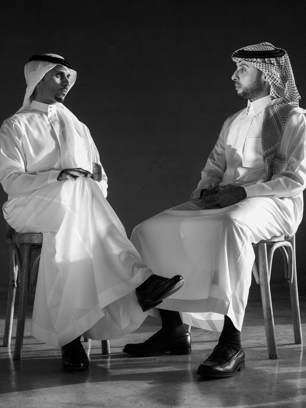 Mr. Nasair Alsharef & Mr. Mohmmed Fayaz  -