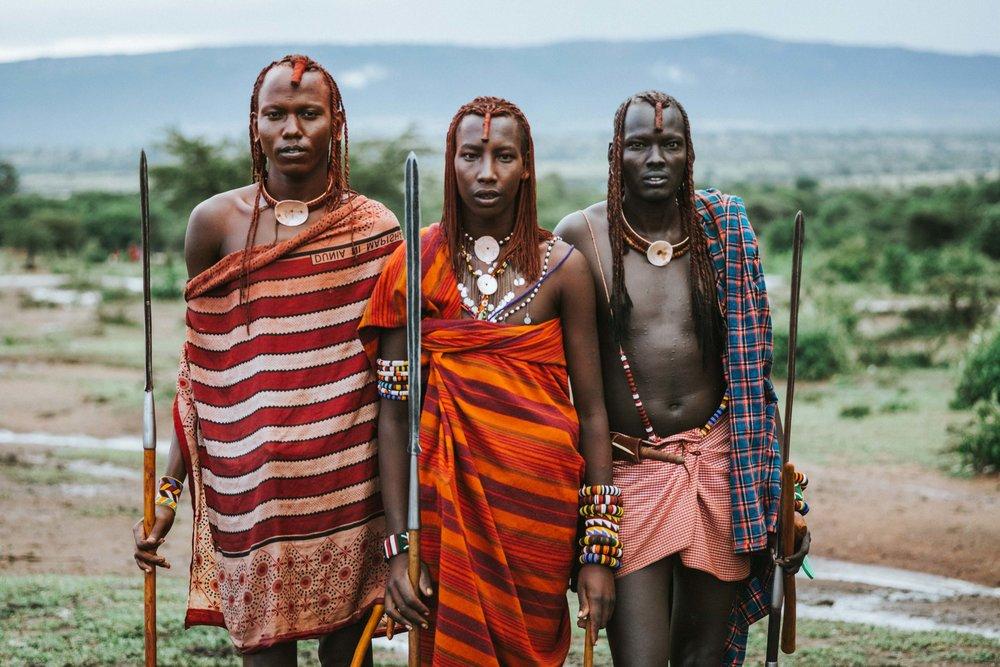 Embark on the safari of your life time and meet Maasai Warriors.