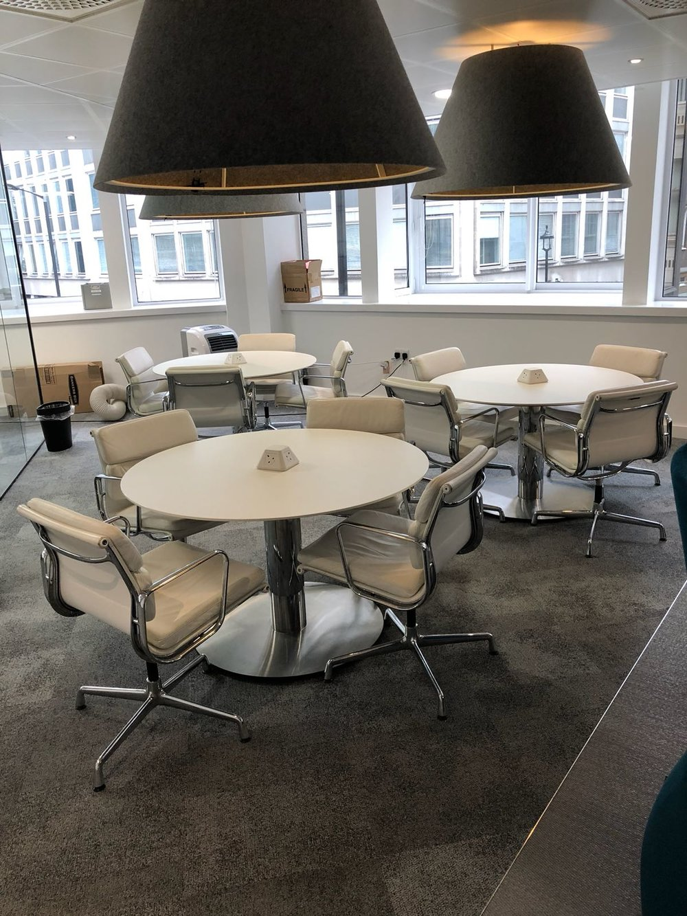 Vitra Eames - Chairs and Matching Tables