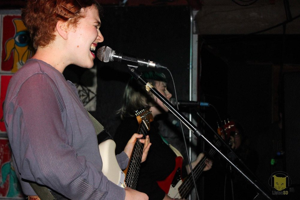 Girlpool and Bobby T and the Slackers at the Che Cafe - We checked out Girlpool and Bobby T and the Slackers at Che Café in San Diego, California on November 3rd, 2015.