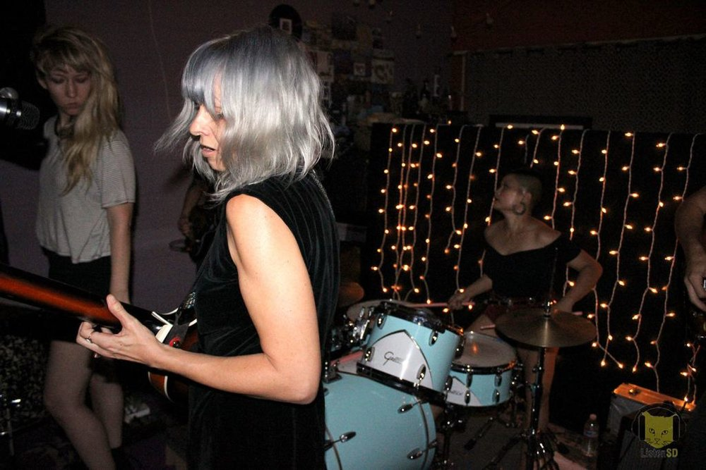 Lavender House Records Present: L.A. Witch, Death Valley Girls and Burning Palms - For those of you in North County needing a new venue to go to or a San Diegans willing to make the trip, Lavender House Records is perfect for watching up and coming artists in a house party environment. Keep checking their website for upcoming shows.(Text by Lara McCaffrey)