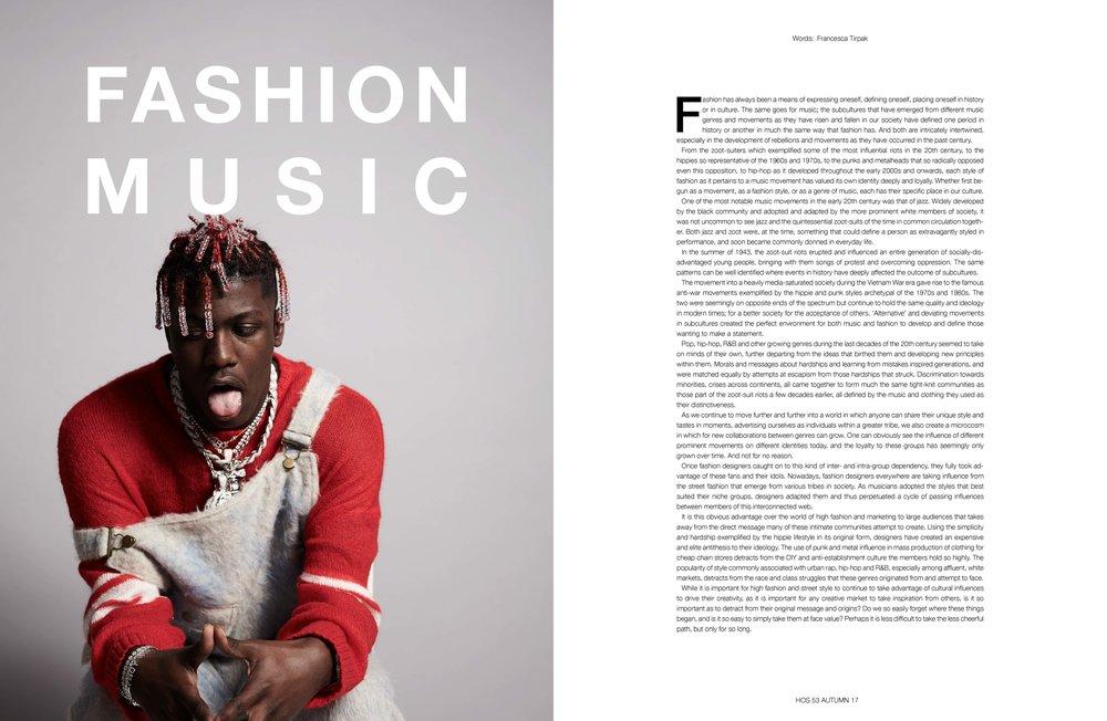 Fashion x Music