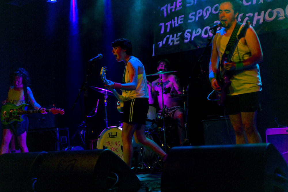 The Spook School at Belgrave Music Hall - The Spook School tore it down at Belgrave Music Hall in Leeds (sponsored by Linda McCartney vegetarian sausages, apparently).