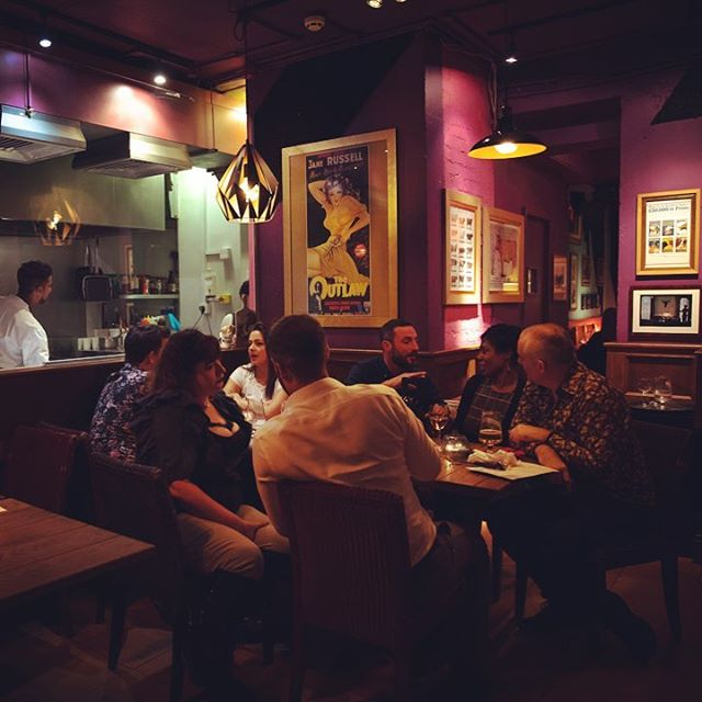 """""""Pull up a chair. Take a taste. Come join us. Life is so endlessly delicious."""" ― Ruth Reichl  #londonrestaurants #thebountifulcow #steakhouse #holborn"""