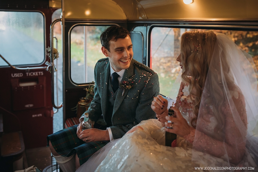The Red Bus bride and groom.jpg
