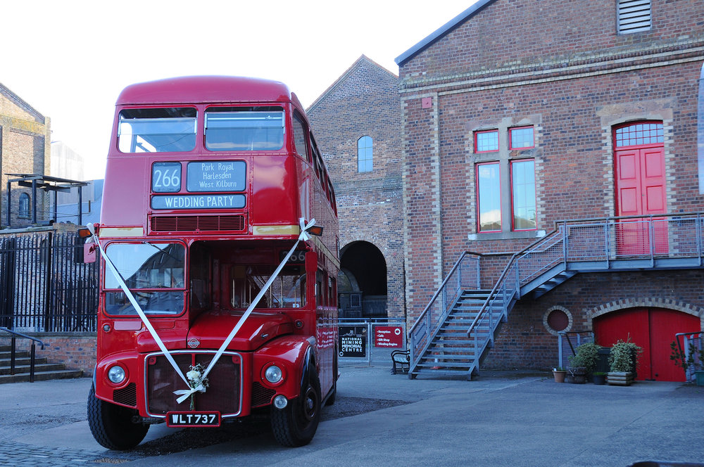 RM737 at the Mining Museum, Newtongrange. Photo taken by Gordon Stirling, a regular driver for The Red Bus