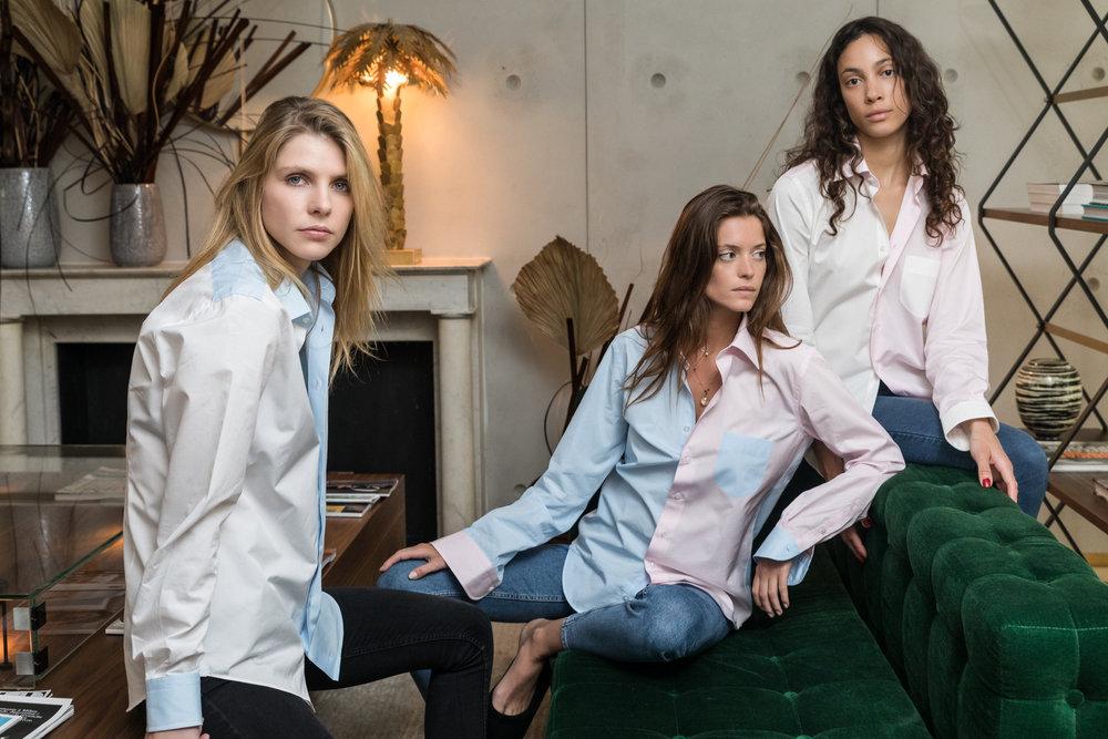 Made-to-measure shirt women