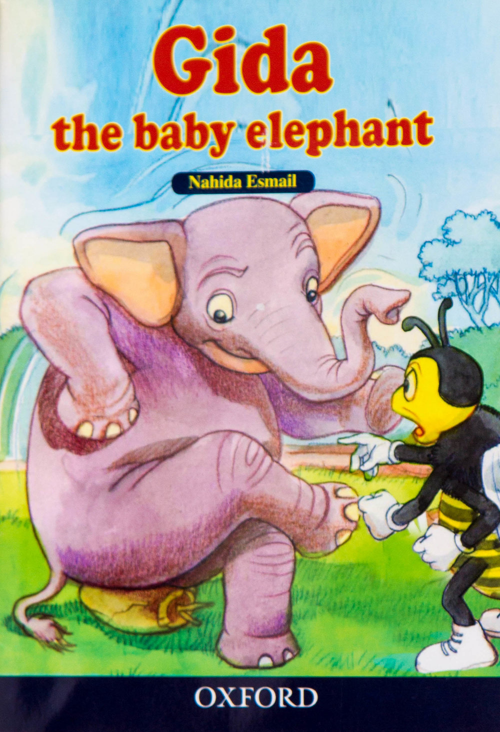 - Gida the baby elephant is for children aged 9 -11 years. It is a story about an elephant that is looking for water to quench its thirst.