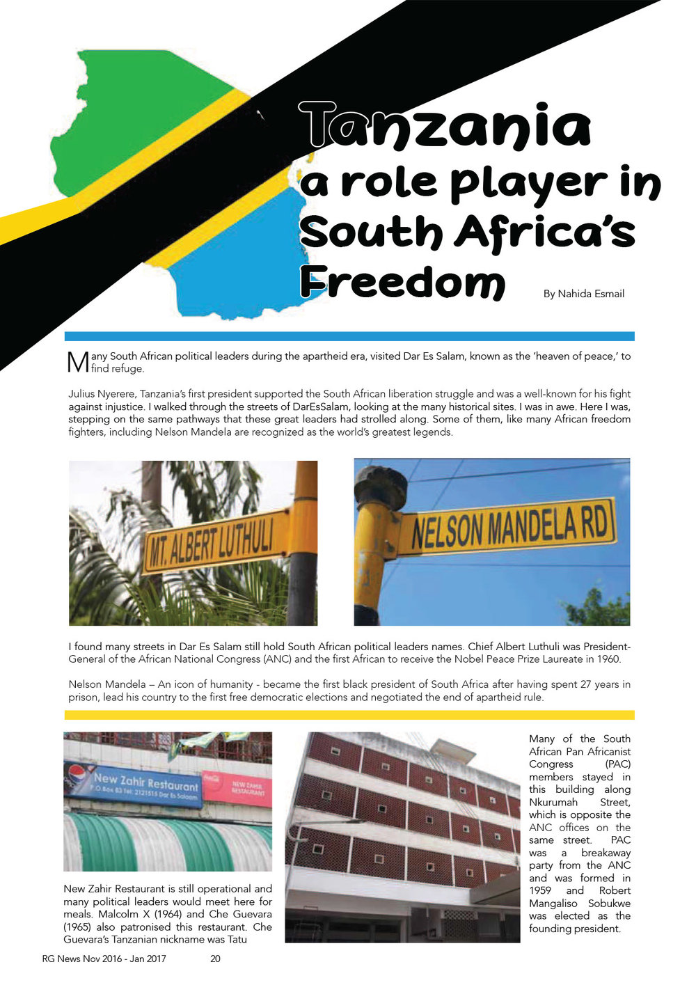 First appeared in Roshgold News  www.roshgold.co.za