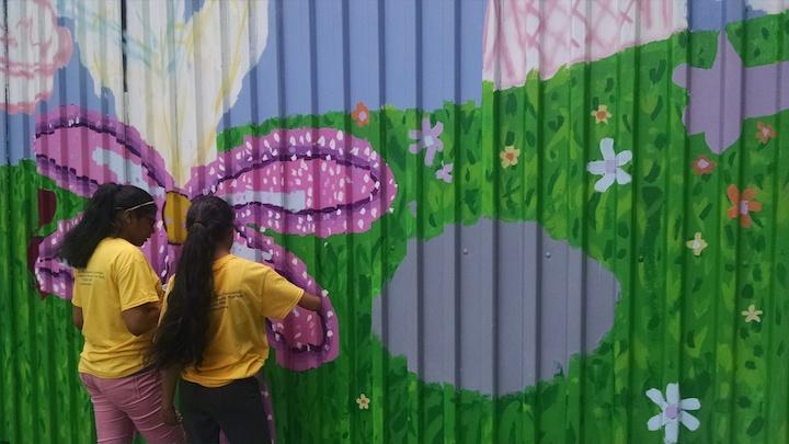 Umma Playground Mural -