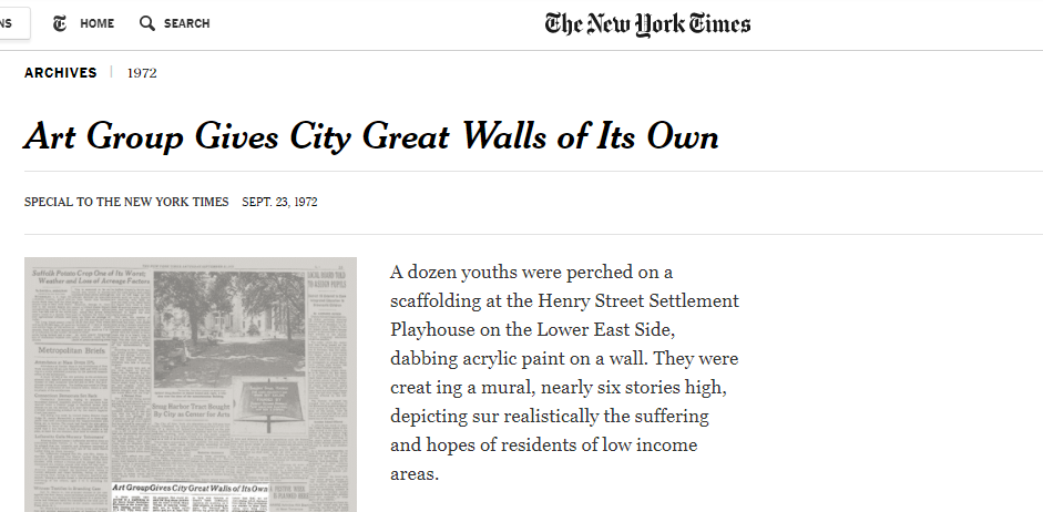 The New York Times - Check out the article here!