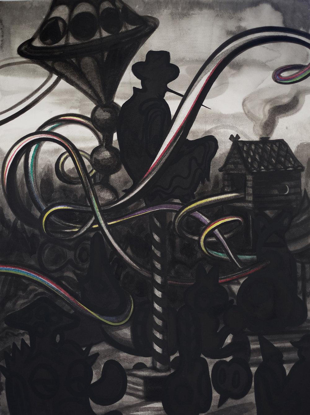 Gorki, 2016, Tusche auf Papier,85x64,5 cm.JPG