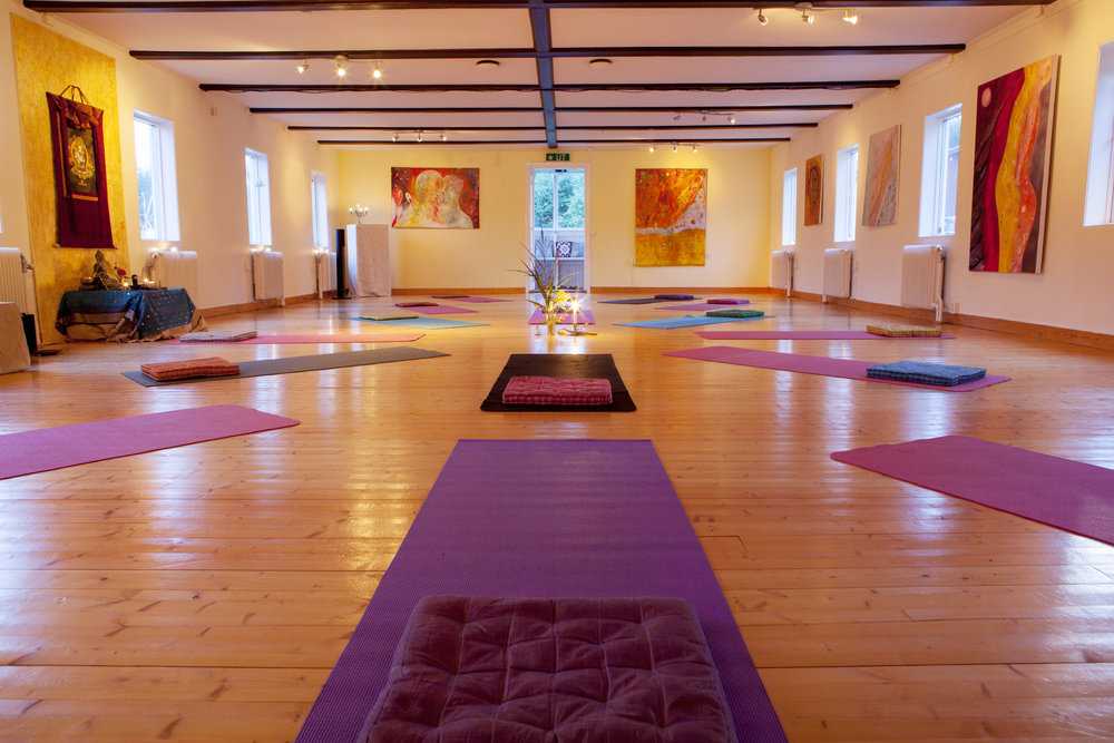 Our Shakti Shala where we will practice Yoga, CranioSacral and Kirtan