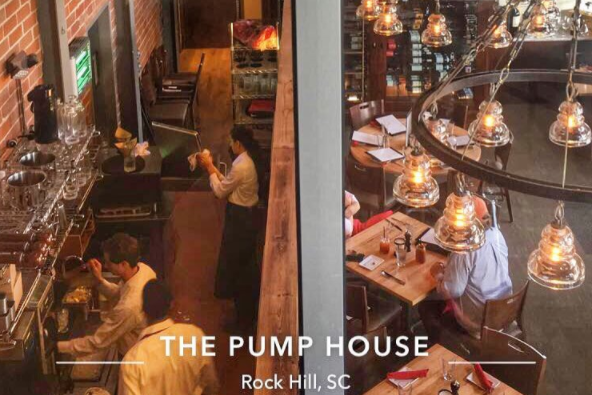 the pump house river dining experience -