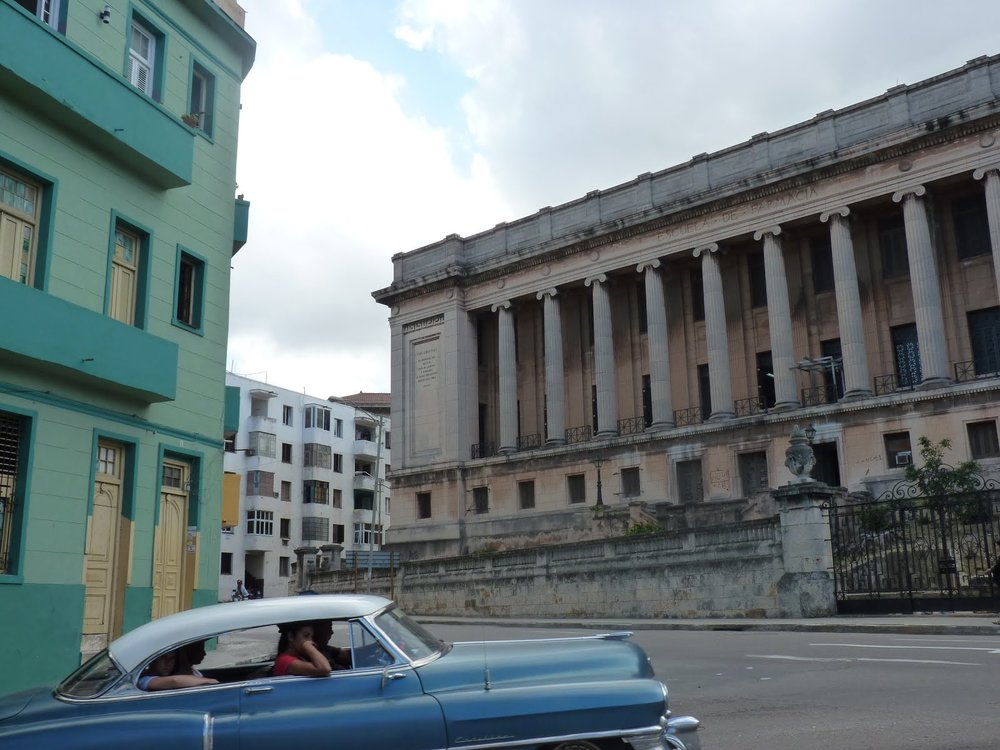 Beautiful colors of Havana.