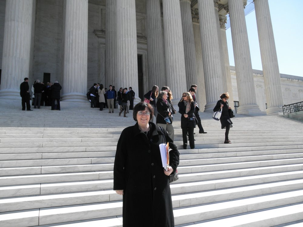 Protecting children and family rights before the United States Supreme Court (  Camreta v. Greene   argument). Diane coordinated 18 friend fo the court briefs on behalf of the mother and child who sued over the in-school seizure of a 9-year-old girl in this 2011 case.