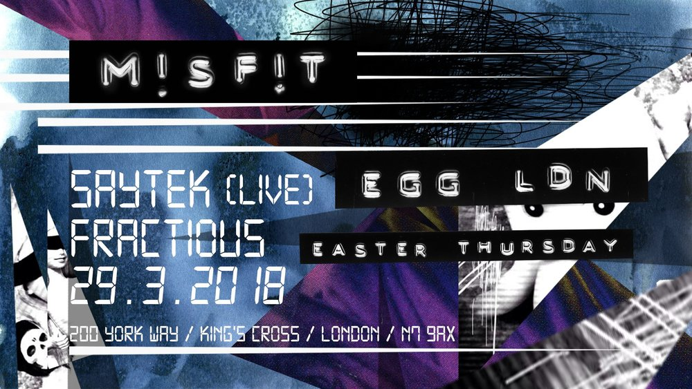 M!SF!T Easter Bank Holiday Thursday