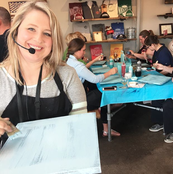 SANDPAPER SOCIALS - We've been hosting our signature painting events for more than 2 years! We specialize in easy to follow directions led by Taylor and our other creative instructors, both in our workshop and other venues around Michigan. Our painting events are the perfect way to get creative and enjoy time with family and friends!