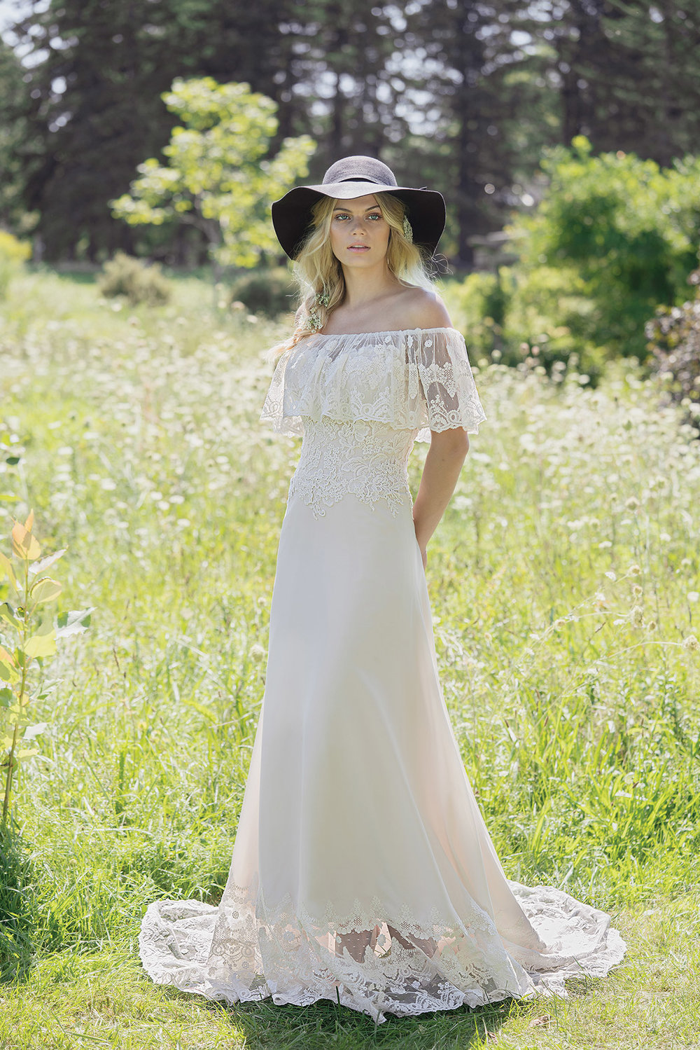 George James Bridal | Lillian West