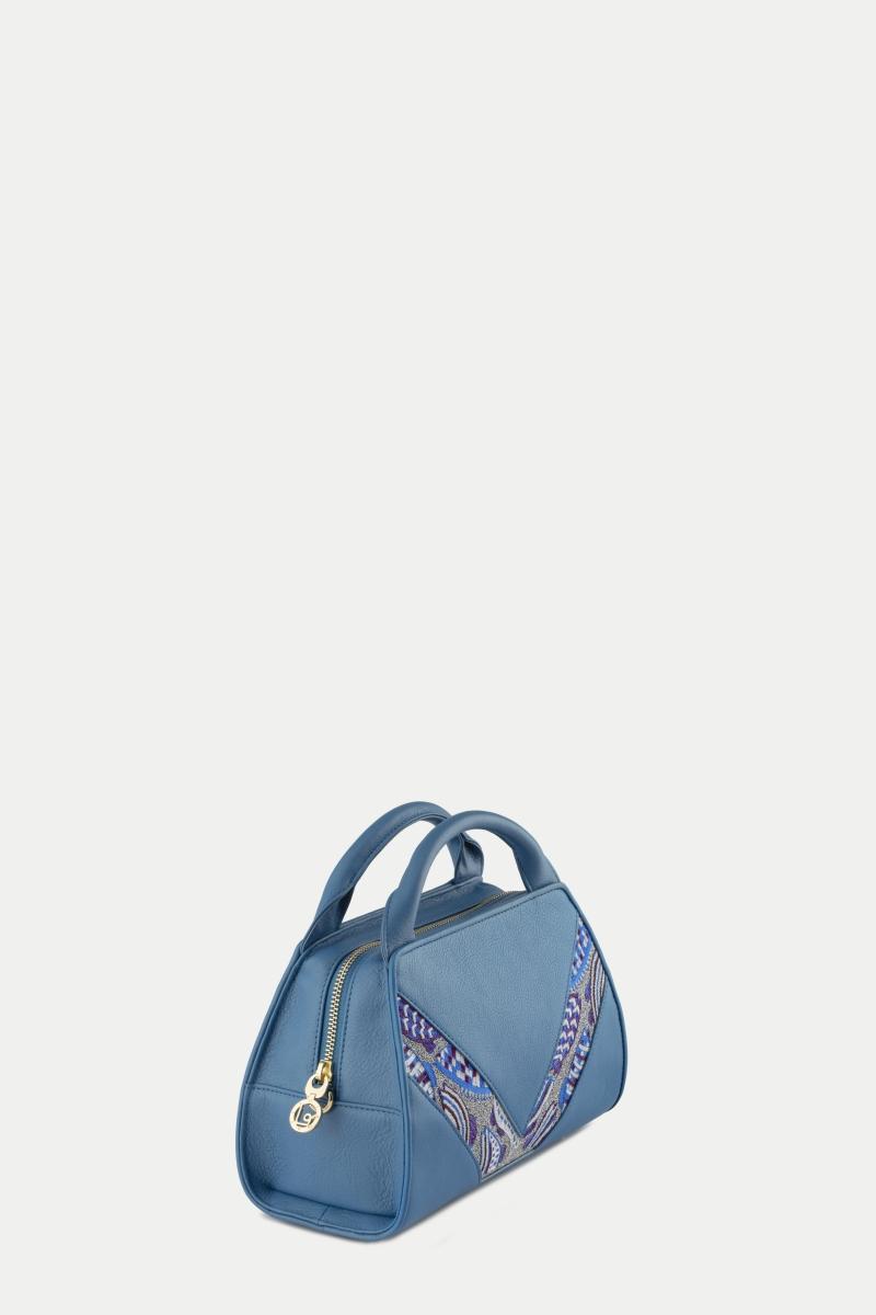 Diana Satchel Crossbody French Blue