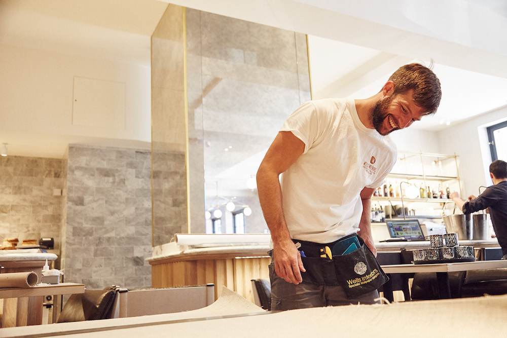 Professional development - We have created a professional curriculum that codifies the specific skills required for our specialist wallcovering installers.